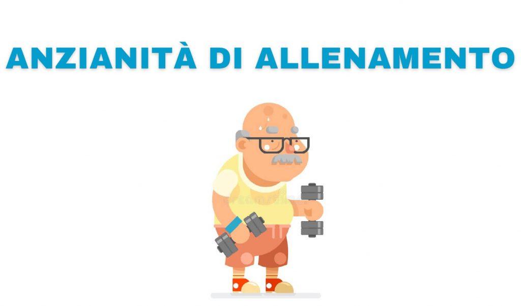 Anzianità di allenamento