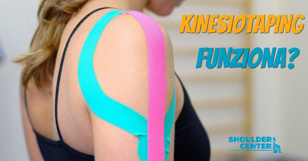Shoulder Center Kinesio Taping